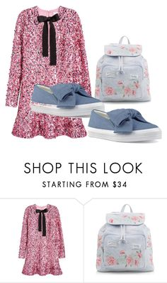 """""""-"""" by ermansom ❤ liked on Polyvore featuring H&M, New Look and Nine West"""