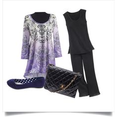 A fashion look from May 2013 featuring cotton pajamas, flat shoes and chanel purse. Browse and shop related looks.