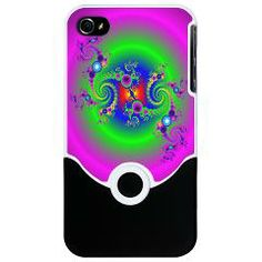 Bubble Glow Circle iPhone Case> Bubbly Glow Circle> Rosemariesw Digital Designs