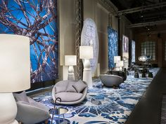 Moooi's Milan 2015 exhibition is captured in a 360-degree virtual showroom.