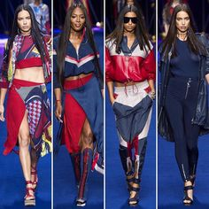Sportswear is the future of fashion! @donatella_versace wrote in her show notes. To make it unique and luxurious is the challenge I took this season. @versace_official #mfw #sporty #style #ss2017 #fashionshow #runway #rtw #report #tweetgram #supermodel #topmodel #beauty #versace #love #favorite #stylish #bestoftheday #italia #sexy #glamour #modern #rebellious #sportwear #collection