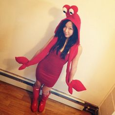 crustacean senstation - crocheted crab costume with shell backpack!