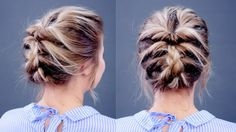 Hairstyle Of The Day: Topsy Tail Updo | Milabu - YouTube