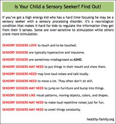 Is your child a sensory seeker? Learn more about it and get tips on great sensory processing disorder toys for sensory seeking kids.