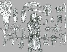 Predator Trophies by DementedInk on deviantART