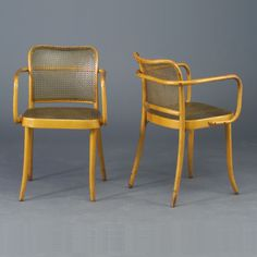 bentwood armchairs : josef frank for ligna