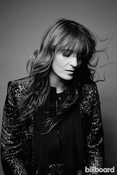 The Florence + the Machine Fan Club   Billboard cover photo shoot - Florence Welch