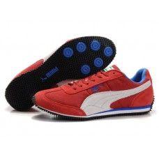 Puma Men Usain Bolt Running Shoes Red/White/Ingigo