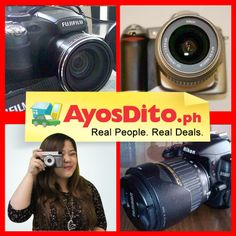 Over Ayos buyers are looking for pre-loved cameras on AyosDito. Sell yours now. Nikon D5000, Real People, Fujifilm, Philippines, Cameras, Gadgets, Camera, Gadget, Film Camera