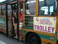Tasting Trolley For Coastal Uncorked Myrtle Beach Resorts
