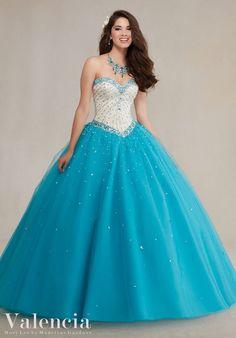 Quinceanera Dresses Blue | Valencia Quinceanera Dresses | Quinceanera Ideas |