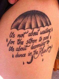 Dance in the rain xx