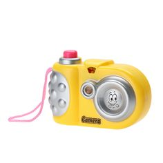 New Fun Projection Camera Toy Muilti Animal Pattern Led Light Projection Educational Study Toys For Children Random Color