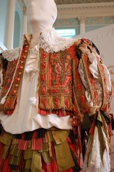 Costume worn by Robert Downey Jr. in Restoration.    https://sphotos-b.xx.fbcdn.net/hphotos-ash3/574931_271665206299590_998369065_n.jpg