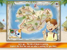 Brainjogging for Kids - a set of 8 brain-teasing games and activities with 4 difficulty levels each. Appysmarts score: 88/100