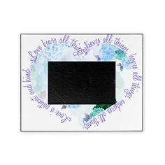 SOLD  Love is Patient Picture Frame $24.50