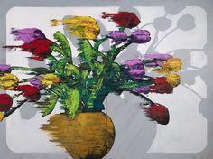 Obliterated Memory, 2012 by HANNU PALOSUO. Oil on canvas, 120x160 cm, 7900€. Inquiries sari.seitovirta@seitsemanvirtaa.com / GALERIE SEITSEMÄN VIRTAA