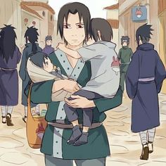 Discovered by Anastasia Taylor. Find images and videos about naruto, sasuke and itachi on We Heart It - the app to get lost in what you love. Madara Uchiha, Sasuke E Itachi, Anime Naruto, Naruto Comic, Naruto Fan Art, Naruto Cute, Naruto Gaiden, Naruto Shippuden Anime, Boruto