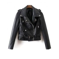 SHARE & Get it FREE | Side Zip Placket PU Leather Biker JacketFor Fashion Lovers only:80,000+ Items·FREE SHIPPING Join Dresslily: Get YOUR $50 NOW!