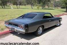 Best musclecar pictures in the world of a Dodge Charger 1968 gear driven 440!