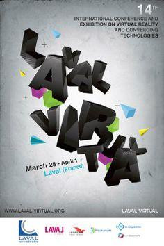 Affiche Laval Virtual 2012