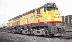 The Alco C855 was Union Pacific's montrous experimental Century model developed in 1964 and able to produce 5,500 horsepower.  It had numerous flaws and was retired by 1972.