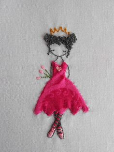 Dancing Princess, Pattern 2, princess 1!!!! by sunny blossom, via Flickr