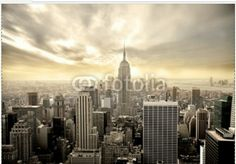 London Design, Inc. Wall Decals & Sticker New York City Skyline Empire State Building uStrip Lite Removable Wall Decal Geometric Wallpaper Murals, City Wallpaper, Photo Wallpaper, Wall Wallpaper, Wallpaper Designs, Perfect Wallpaper, Travel Wallpaper, Custom Wallpaper, Wallpaper Ideas