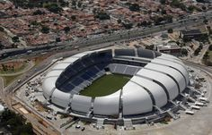 'arena das dunas stadium' by populous, rio grande do norte, brasil