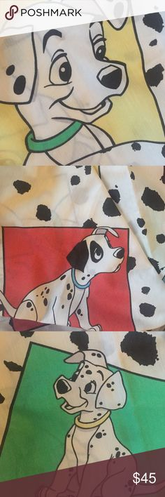 101 Dalmatians Curtains Super adorable set of 2 matching Dalmatian curtains. Perfect for a dog lover or kids room or for a Disney collector! 40 inches wide and about 60 long. Disney Accessories