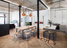Jo Cowen Architects turns Victorian-era bakery into factory-inspired housing