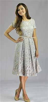 Ariana Modest Dress by Mikarose  Beautiful Vintage dresses and ...