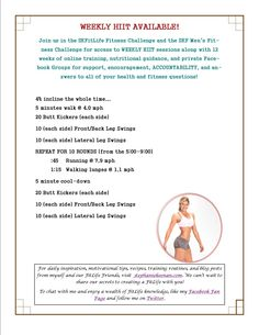 Join the SKFitLife Challenge (we have men's AND women's!) for access to weekly HIIT sessions! www.stephaniekeenan.com