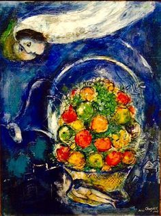 Marc Chagall on ArtStack - art online Joan Miro Paintings, Chagall Paintings, Marc Chagall, Moonlight Painting, Ink In Water, A Level Art, Jewish Art, Painting Process, Art Themes