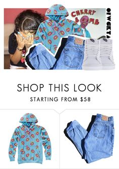 """""""[ 🍩 ]"""" by luh-foreign ❤ liked on Polyvore featuring ODD FUTURE, Levi's and Vans"""