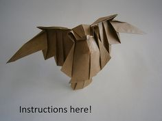 Hi everybody!! I have created a youtube channel... and what a good start.... I´ve taught my flying owl! Please share it and help me to make my channel bigger. THANK YOU -  Hola a todos! He creado un canal de youtube, y qué mejor manera de empezar que con el videotutorial de mi búho volador! Por favor compartid el video y subscribiros para que poco a poco crezca el canal MUCHAS GRACIAS www.youtube.com/watch?v=FvVyF_3OtVA&list=UUoo5tHkmtaT...