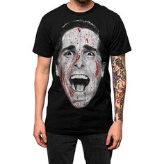 Our 'Hey Paul' (Patrick Bateman) tee is available in both mens & womens sizes!