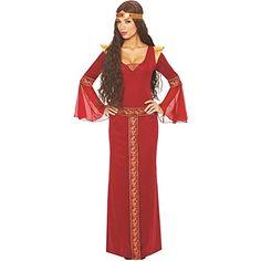 Costume Culture Women's Guinevere Costume, Red, Medium Co... https://www.amazon.com/dp/B00CW4MEOM/ref=cm_sw_r_pi_dp_x_yKtzzbPJVC3NA
