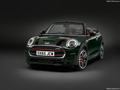 MINI to build John Cooper Works Convertible. It already has the mantle of being the most powerful MINI ever built, now the flagship John Cooper Works version is going to be offered as a convertible. Mini Cooper Convertible, Mini Cooper 2016, Mini Cooper S Cabrio, Mini Coopers, Camaro Zl1, Mercedes Amg, Mini John Cooper Works, Car Bonnet, Automobile