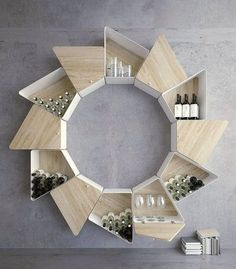40+ Amazing and Unique Wood Shelving Design Ideas For Your Home   #