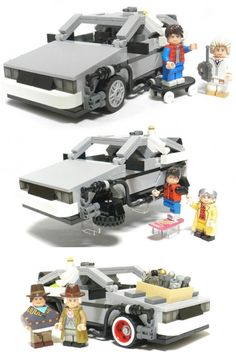 Back The The Future LEGO