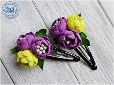 MiniArt - hand made with love: Spinki do włosów / Hair clips - DT Craft Passion