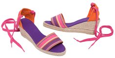 An exotic bohemian who has never been accused of blending in – RAIMUNDA espadrilles from www.espadrillesetc.com