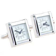 manchet horloge vierkante manchetknopen nieuwe luxe franse manchet bruiloft manchetknopen gouden horloge nieuwe
