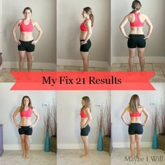 The 21 Day Fix is Ahh-MAZING!!! I lost 8.8lbs in 21 Days!! That's the same 8 pounds I had worked for 3 years to lose (unsuccessfully)!!! Check out My Story!!