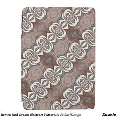 Brown And Cream Abstract Pattern