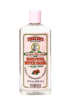 Thayers Alcohol-Free Witch Hazel with Organic Aloe Vera Formula Toner, Rose Petal Just the best toner in the world for sensitive acne prone skin, and believe me, I've tried everything, amazing! Witch Hazel Face, Witch Hazel Toner, Best Witch Hazel, Thayers Witch Hazel, Beauty Skin, Health And Beauty, Hair Beauty, Beauty Makeup, Organic Skin Care