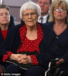 """Harper Lee Denies Rumors She Was 'Pressured' into Releasing New Book. The author of """"To Kill A Mockingbird"""" says, 'I'm alive and kicking and happy as hell with the reactions to Watchman,'Thursday morning, according to the BBC. New Books, Books To Read, Keeping Secrets, Harper Lee, Louisa May Alcott, To Kill A Mockingbird, Cool Cartoons, Famous Quotes, Memoirs"""