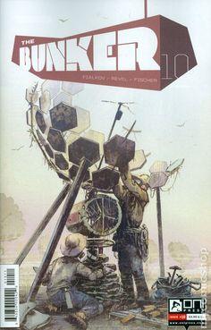 Bunker (2014 Oni Press) 10 Oni Press Modern Age Comic Book covers