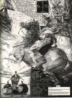 Napoleone attraversa le Alpi ... in collage